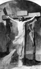 Тарас Шевченко. На хресті. 1850 рік